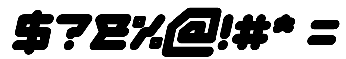 ATHLETIC Bold Italic Font OTHER CHARS