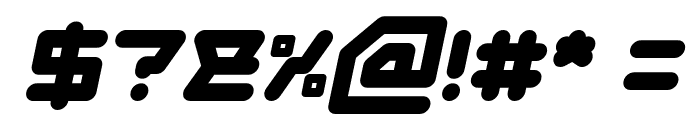 ATHLETIC Italic Font OTHER CHARS