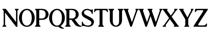 Atari Bold Font UPPERCASE