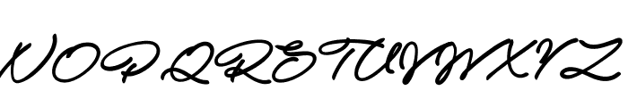 Atelas Personal Use Only Font UPPERCASE