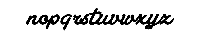 Atelas Personal Use Only Font LOWERCASE