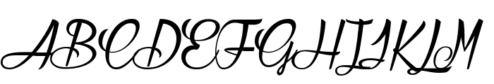 Atelier Omega  Font UPPERCASE