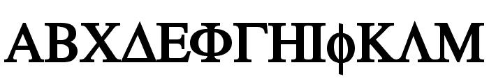 Atene-Bold Font UPPERCASE