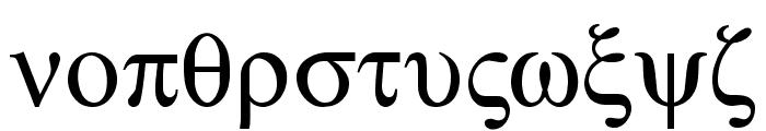 Atene-Normal Font LOWERCASE