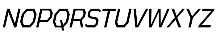 AthabascaCdBk-Italic Font UPPERCASE
