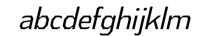 AthabascaCdBk-Italic Font LOWERCASE