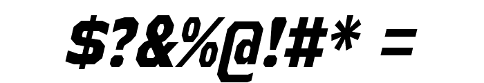 AthabascaCdEb-Italic Font OTHER CHARS