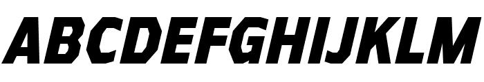 AthabascaCdEb-Italic Font UPPERCASE