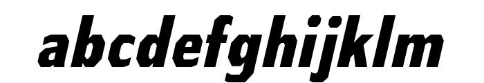 AthabascaCdEb-Italic Font LOWERCASE