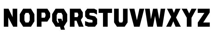 AthabascaCdEb-Regular Font UPPERCASE