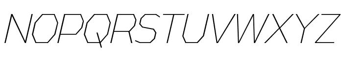 AthabascaCdEl-Italic Font UPPERCASE