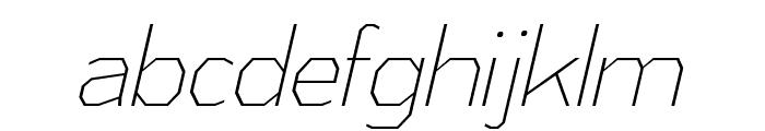 AthabascaCdEl-Italic Font LOWERCASE