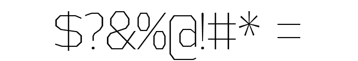 AthabascaCdEl-Regular Font OTHER CHARS