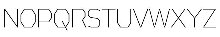 AthabascaCdEl-Regular Font UPPERCASE