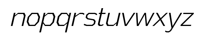 AthabascaCdLt-Italic Font LOWERCASE