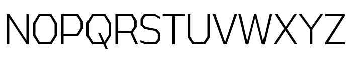 AthabascaCdLt-Regular Font UPPERCASE