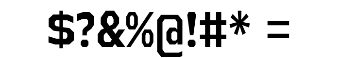 AthabascaCdRg-Bold Font OTHER CHARS