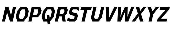 AthabascaCdRg-BoldItalic Font UPPERCASE
