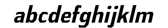 AthabascaCdRg-BoldItalic Font LOWERCASE