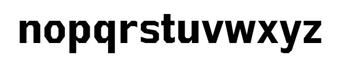 AthabascaCdRg-Bold Font LOWERCASE