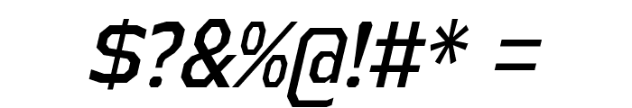 AthabascaCdRg-Italic Font OTHER CHARS