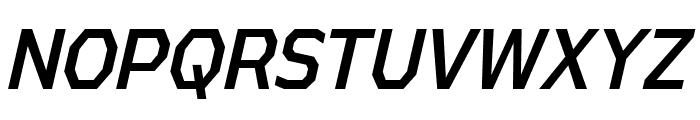 AthabascaCdRg-Italic Font UPPERCASE