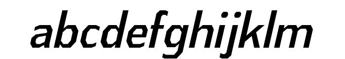 AthabascaCdRg-Italic Font LOWERCASE