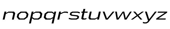 AthabascaExBk-Italic Font LOWERCASE