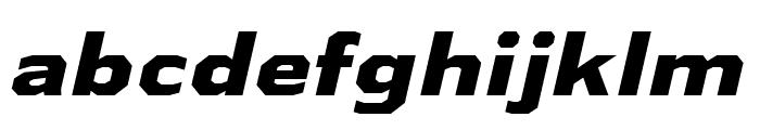 AthabascaExEb-Italic Font LOWERCASE
