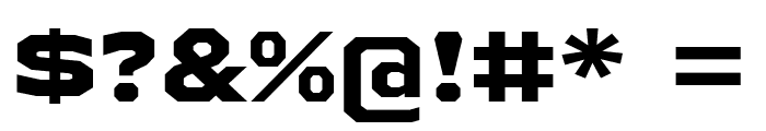 AthabascaExEb-Regular Font OTHER CHARS