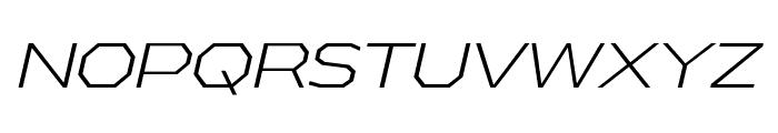 AthabascaExLt-Italic Font UPPERCASE