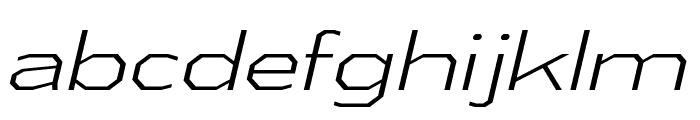 AthabascaExLt-Italic Font LOWERCASE