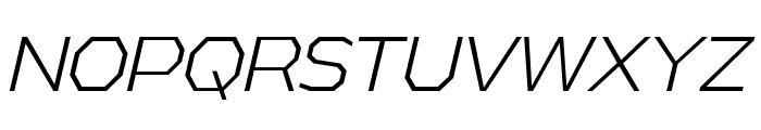 AthabascaLt-Italic Font UPPERCASE