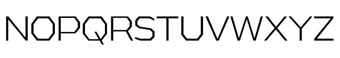 AthabascaLt-Regular Font UPPERCASE