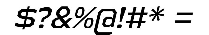 AthabascaRg-Italic Font OTHER CHARS