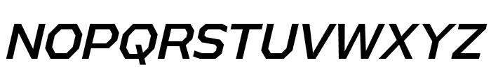 AthabascaRg-Italic Font UPPERCASE