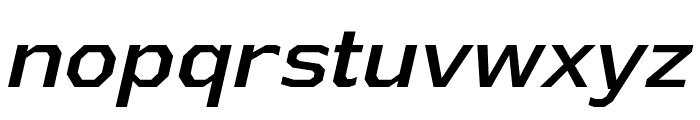AthabascaRg-Italic Font LOWERCASE