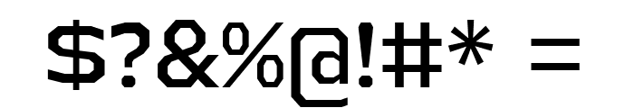 AthabascaRg-Regular Font OTHER CHARS