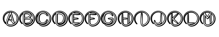 Atheist Font UPPERCASE