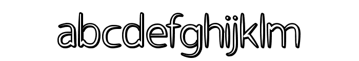 Atheist Font LOWERCASE