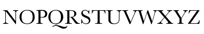 Athena Unicode Font UPPERCASE