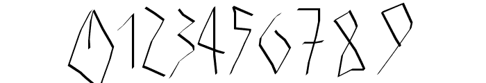 Athena Font OTHER CHARS