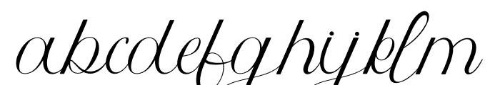 Athenia Font LOWERCASE