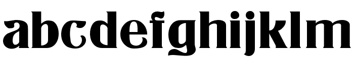 Athenian Normal Font LOWERCASE