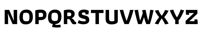 Athiti Bold Font UPPERCASE