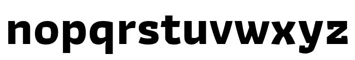 Athiti Bold Font LOWERCASE