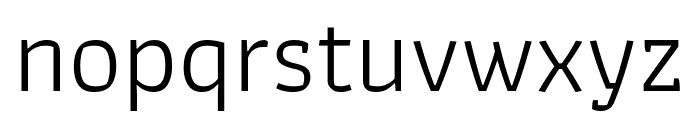 Athiti Regular Font LOWERCASE