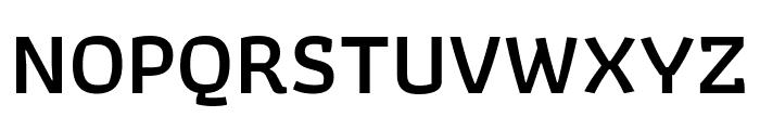 Athiti SemiBold Font UPPERCASE