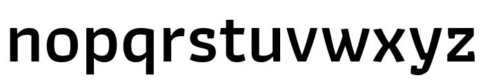 Athiti SemiBold Font LOWERCASE