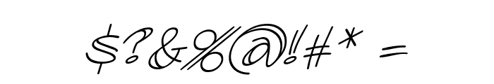 AtlandSketches BB Italic Font OTHER CHARS